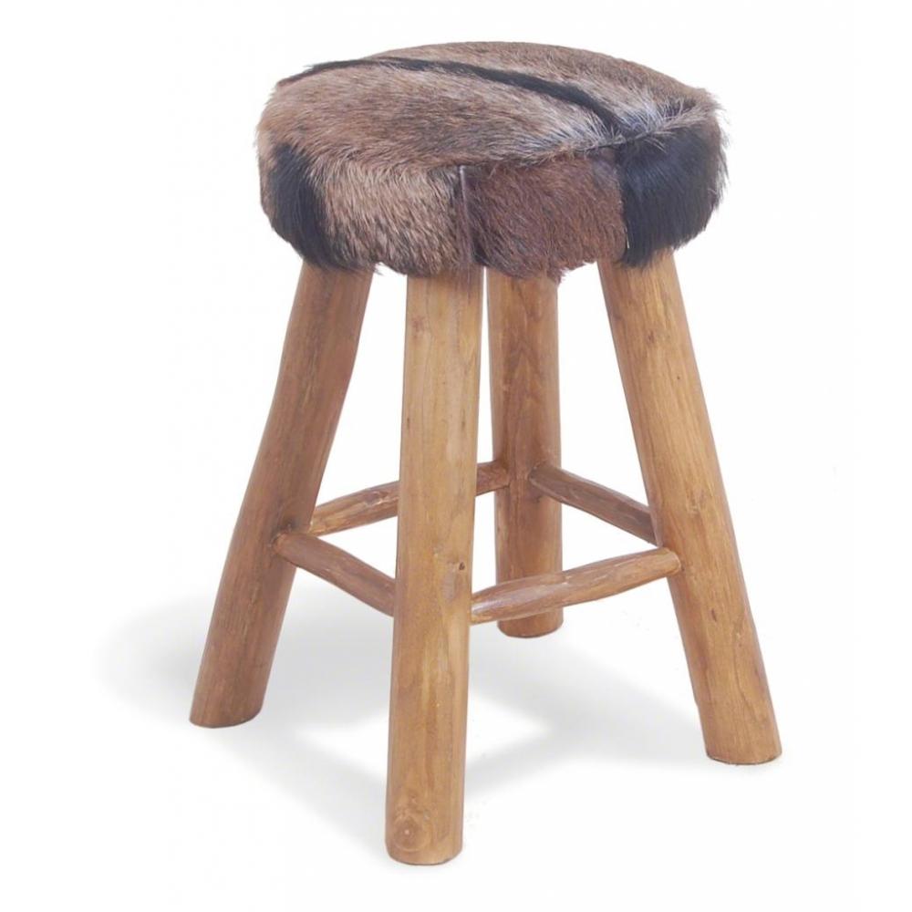 Fur Bar Stool