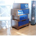 Nostalgic chest four drawers