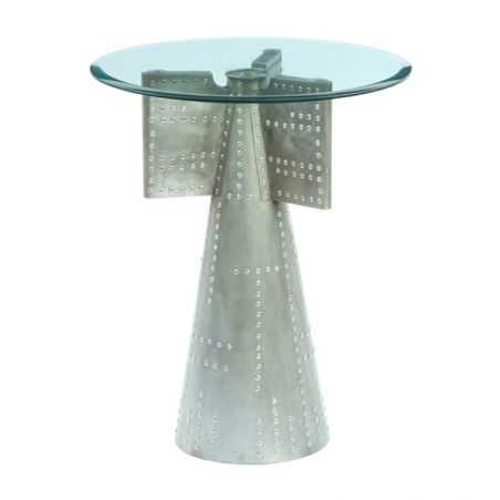 Aviator Glass Table Home Smithers of Stamford £ 300.00 Store UK, US, EU, AE,BE,CA,DK,FR,DE,IE,IT,MT,NL,NO,ES,SE