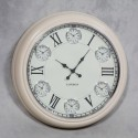 1950s Style Cream Face Wall Clock
