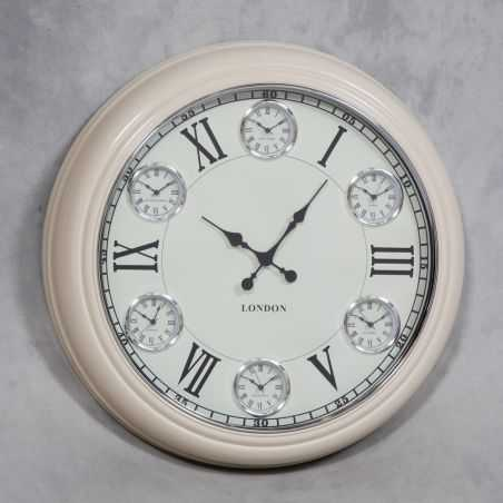 1950s Style Cream Face Wall Clock Smithers Archives Smithers of Stamford £ 167.00 Store UK, US, EU, AE,BE,CA,DK,FR,DE,IE,IT,M...