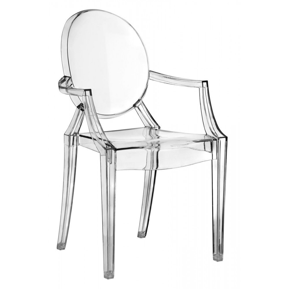 Philippe Starck Kartell, Louis original Ghost See through Chairs