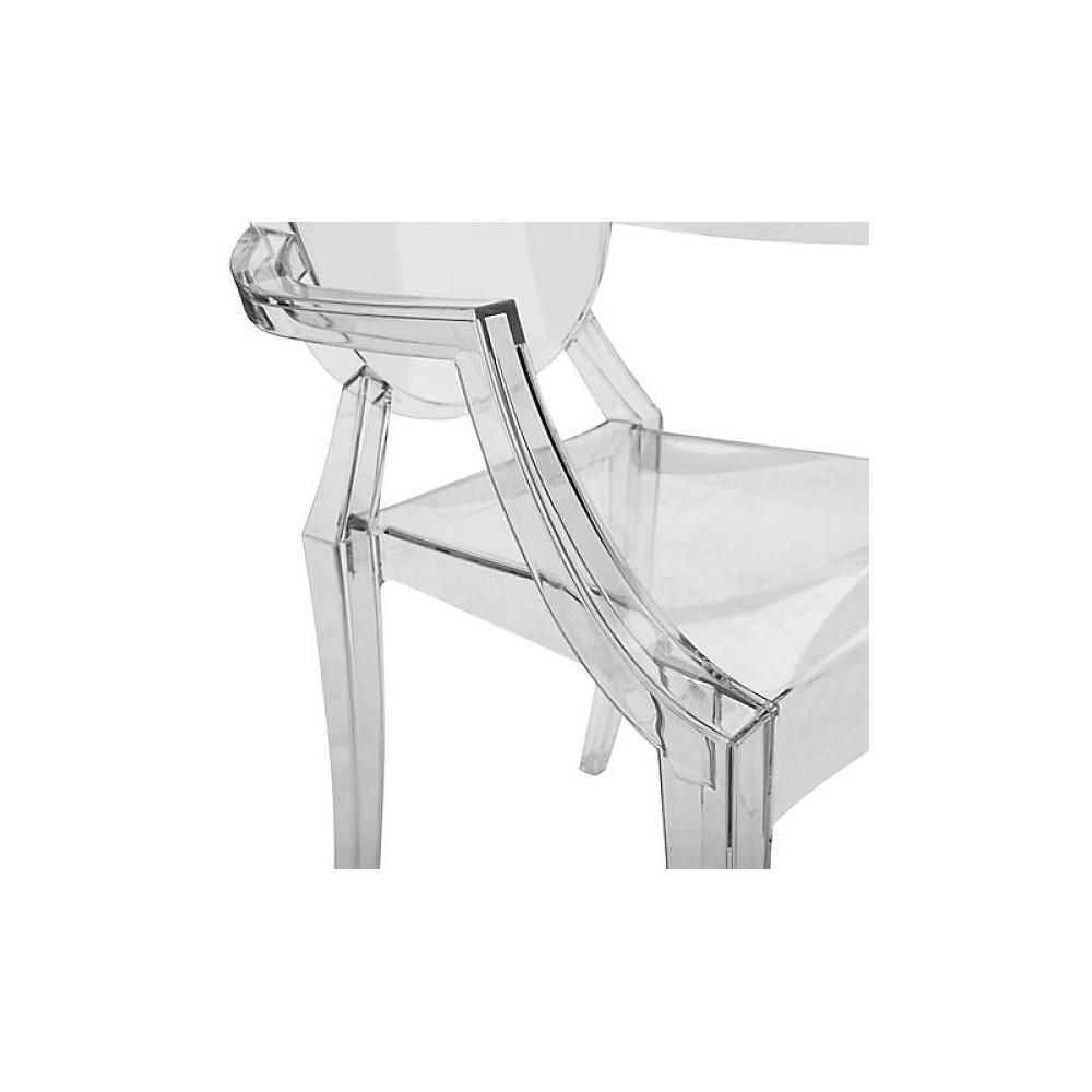 philippe starck kartell louis original ghost see through chairs
