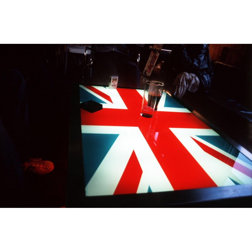 Union Jack Coffee Table Made Coffee Table Modern Glass