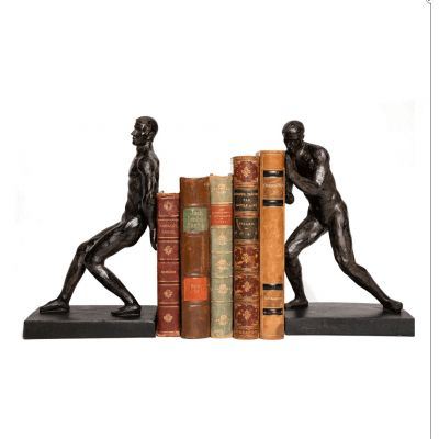Strong Man Bookends