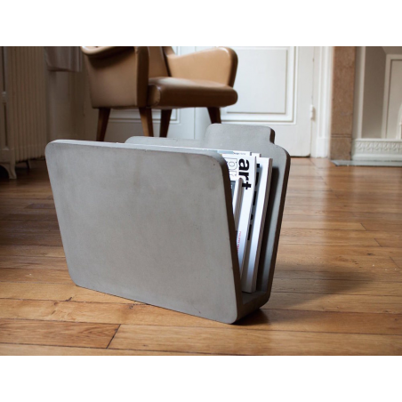 Concrete Magazine Rack This And That  £ 180.00 Store UK, US, EU, AE,BE,CA,DK,FR,DE,IE,IT,MT,NL,NO,ES,SE
