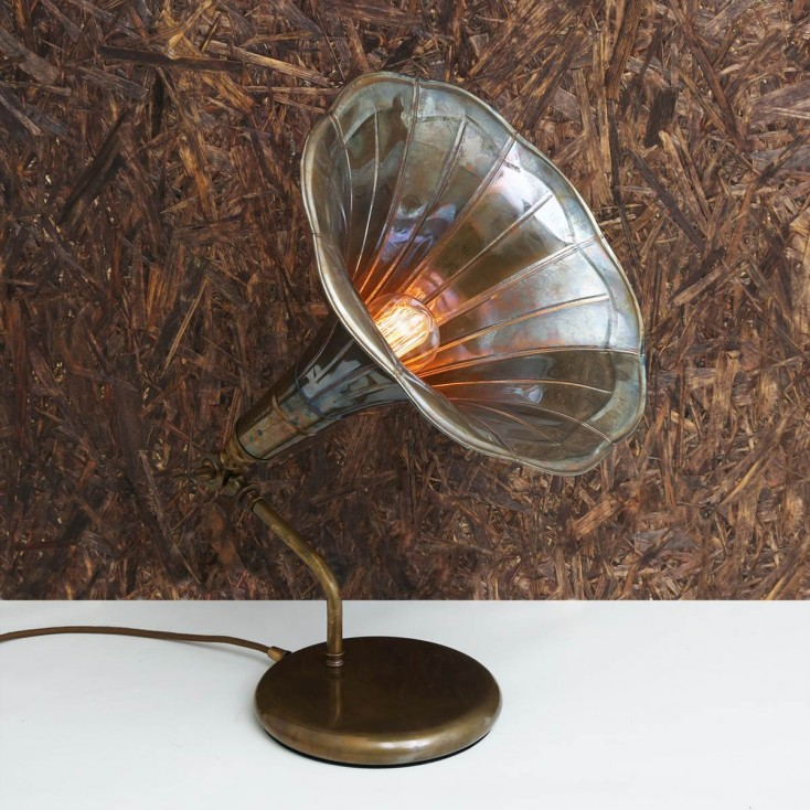 Gramophone Table Lamp