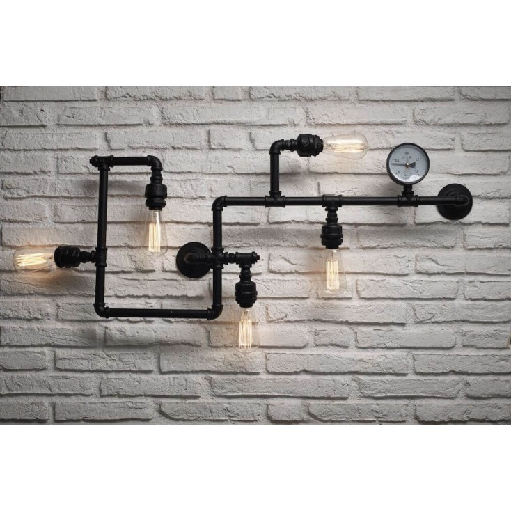Industrial Pipe Wall Lights Vintage Lighting Smithers of Stamford £ 244.00 Store UK, US, EU