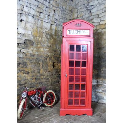 British Red Phone Box Cabinet Storage Furniture Smithers of Stamford £ 720.00 Store UK, US, EU