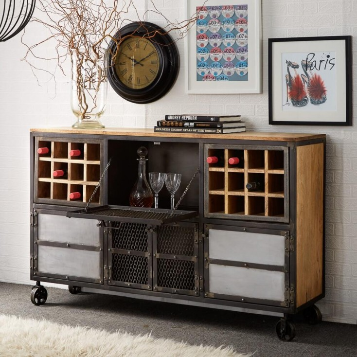 Industrial Bar Cart Industrial Furniture Smithers of Stamford £ 860.00 Store UK, US, EU, AE,BE,CA,DK,FR,DE,IE,IT,MT,NL,NO,ES,SE