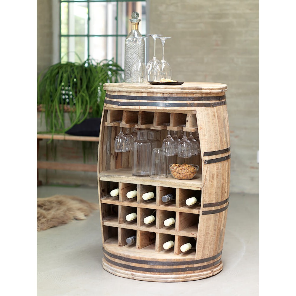 Wine Bottle Barrel Rack Whiskey Barrel Rack Storage