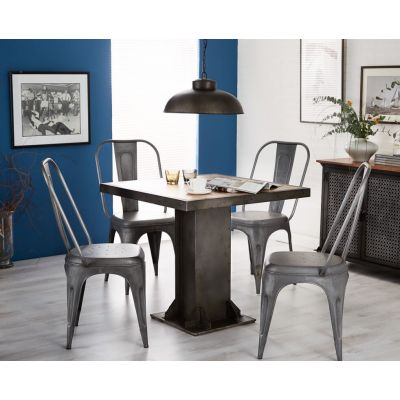 Leyland Round Industrial Table