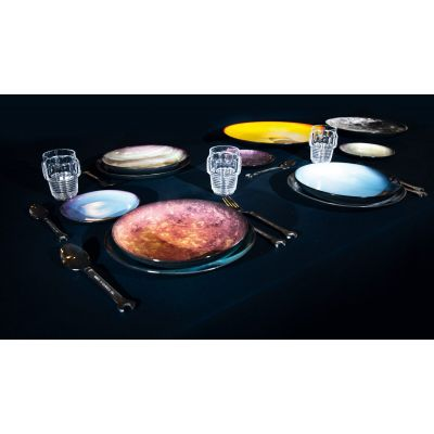 Cosmic Dining Plates