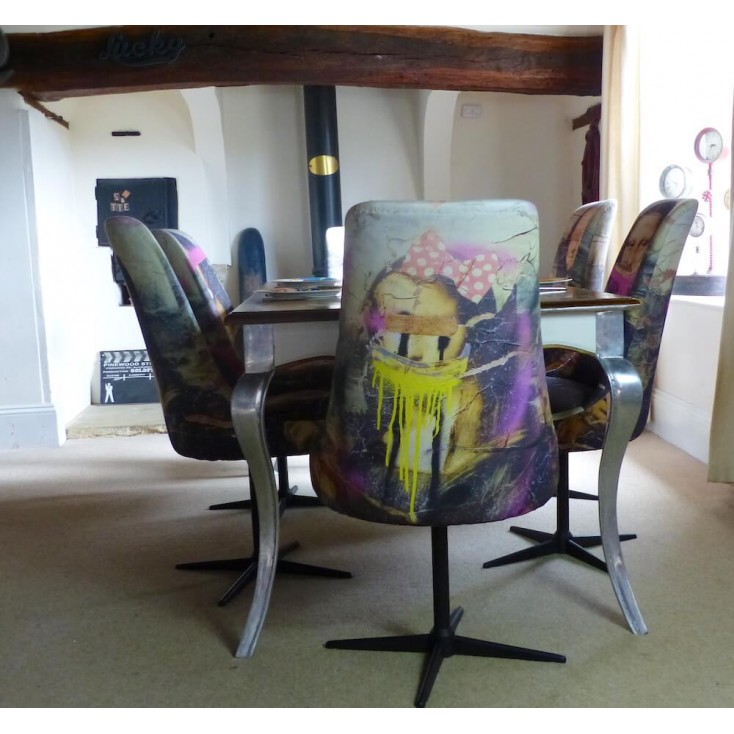 Mona Lisa Dining Chairs Money For Nothing BBC £ 250.00 Store UK, US, EU, AE,BE,CA,DK,FR,DE,IE,IT,MT,NL,NO,ES,SE