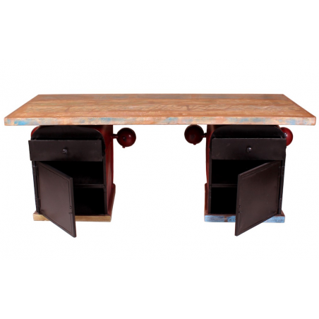 Tractor Desk Recycled Wood Furniture Smithers of Stamford £ 2,260.00 Store UK, US, EU, AE,BE,CA,DK,FR,DE,IE,IT,MT,NL,NO,ES,SE