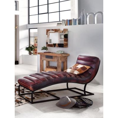 Hypnosis Leather Lounger