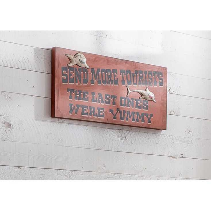 Yummy Tourist Sign Retro Signs Smithers of Stamford £ 90.00 Store UK, US, EU, AE,BE,CA,DK,FR,DE,IE,IT,MT,NL,NO,ES,SE