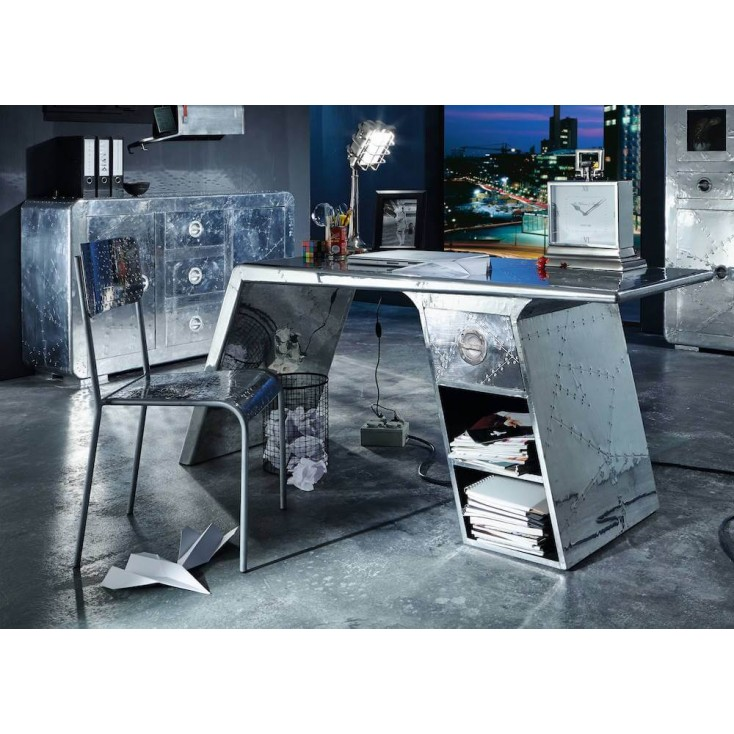 Aviator Airplane Wing Desk Office Smithers of Stamford £ 1,380.00 Store UK, US, EU, AE,BE,CA,DK,FR,DE,IE,IT,MT,NL,NO,ES,SE