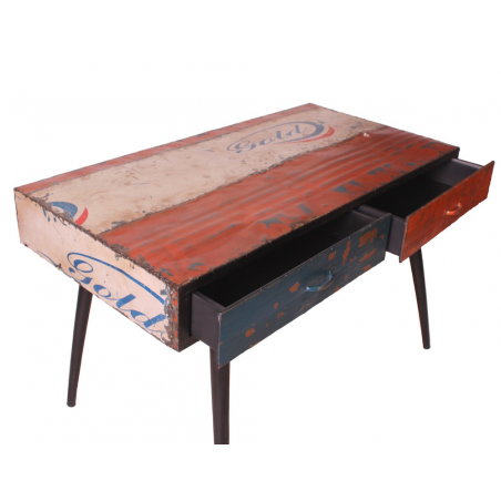 Oil Drum Desk Office  Smithers of Stamford £ 650.00 Store UK, US, EU, AE,BE,CA,DK,FR,DE,IE,IT,MT,NL,NO,ES,SE