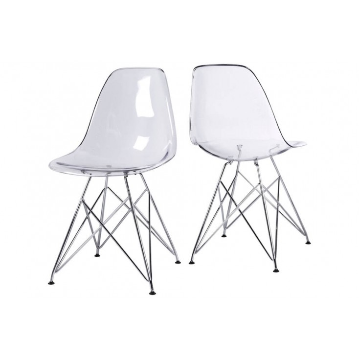 Ghost Crystal Dining Chair
