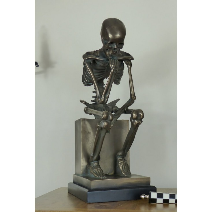 The Thinker Skeleton