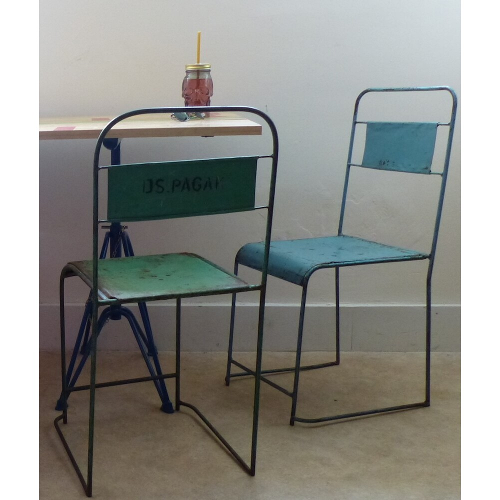 ... Old School Chairs - Steel Vintage School Metal Stacking Chairs Old Antique School Chair U.K