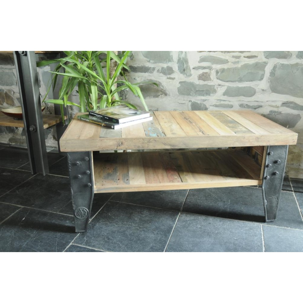 Beautiful New York Loft Reclaimed Wood Coffee Tables