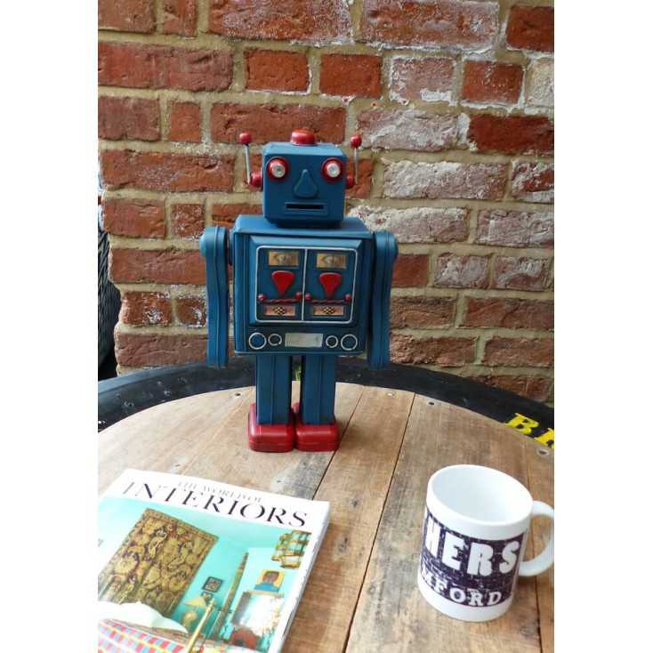 Robbie The Retro Robot Retro Gifts Smithers of Stamford £ 36.00 Store UK, US, EU, AE,BE,CA,DK,FR,DE,IE,IT,MT,NL,NO,ES,SE