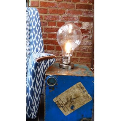 Volta Glass Dome Lamp Vintage Lighting Smithers of Stamford £ 72.00 Store UK, US, EU, AE,BE,CA,DK,FR,DE,IE,IT,MT,NL,NO,ES,SE