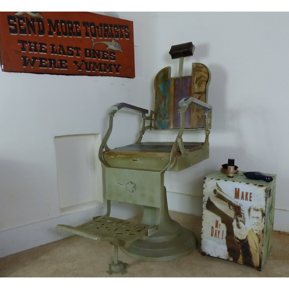 Vintage Barber Shop Chair