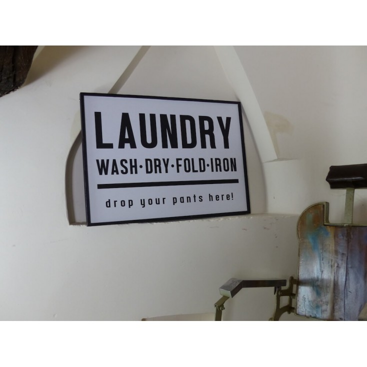 Vintage Laundry Signs Retro Signs Smithers of Stamford £ 29.00 Store UK, US, EU