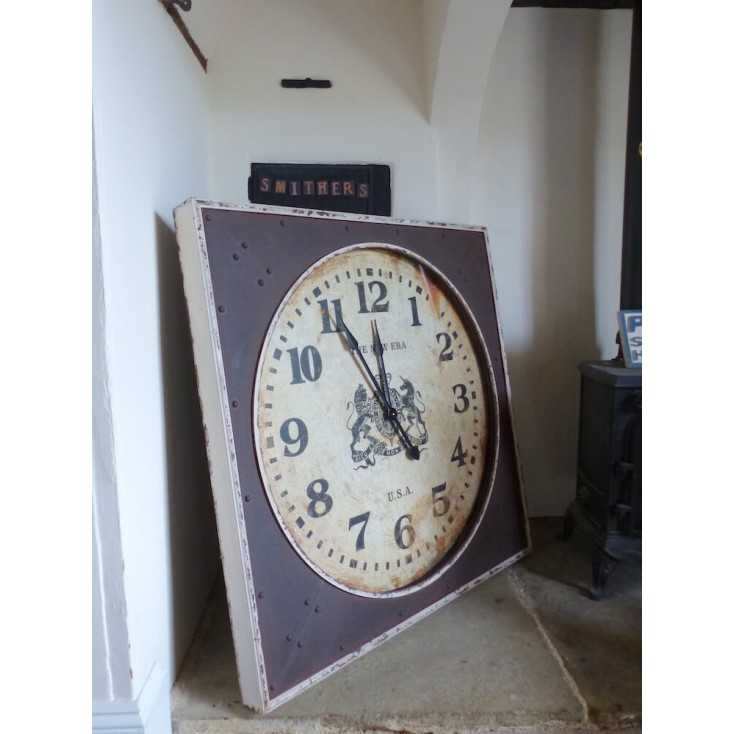 Large Vintage Wall Clock Smithers Archives Smithers of Stamford £ 300.00 Store UK, US, EU, AE,BE,CA,DK,FR,DE,IE,IT,MT,NL,NO,E...