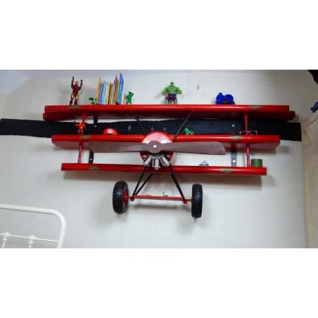 Red Baron Wall Shelving Aviation Furniture Smithers of Stamford £1,350.00 Store UK, US, EU, AE,BE,CA,DK,FR,DE,IE,IT,MT,NL,NO,...