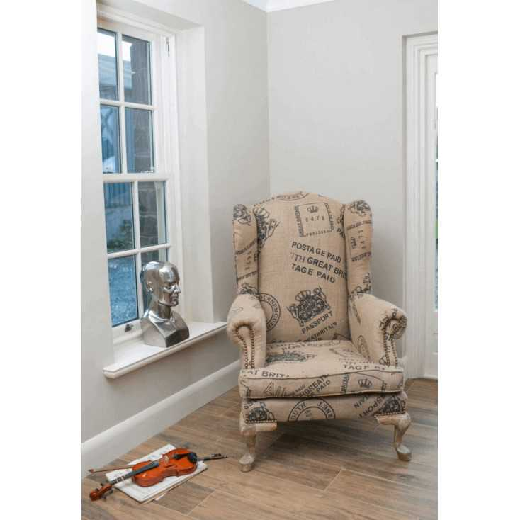 The Post Master Wingback Armchair Smithers Archives Smithers of Stamford £ 849.00 Store UK, US, EU, AE,BE,CA,DK,FR,DE,IE,IT,M...