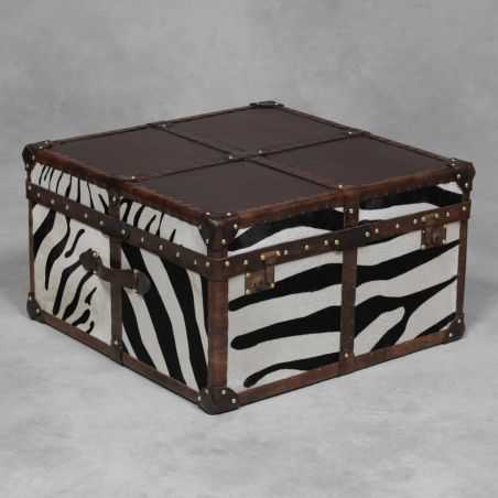 Zebra Hide Trunk Smithers Archives Smithers of Stamford £ 1,140.00 Store UK, US, EU, AE,BE,CA,DK,FR,DE,IE,IT,MT,NL,NO,ES,SE