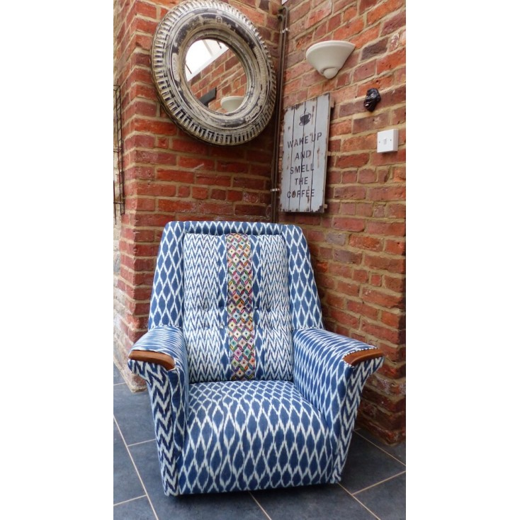 Guatemalan Retro Armchair Money For Nothing BBC Smithers of Stamford 2,000.00 Store UK, US, EU, AE,BE,CA,DK,FR,DE,IE,IT,MT,NL...