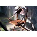 British Directors Leather Colonial Chair