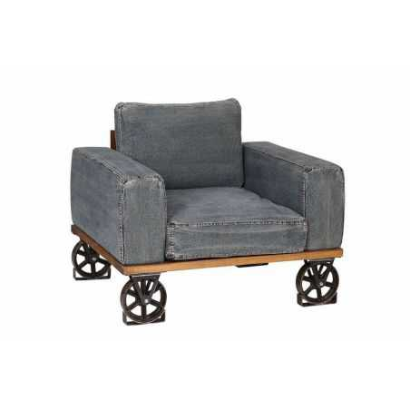 Denim Originals Armchair Smithers Archives Smithers of Stamford £ 1,225.00 Store UK, US, EU, AE,BE,CA,DK,FR,DE,IE,IT,MT,NL,NO...