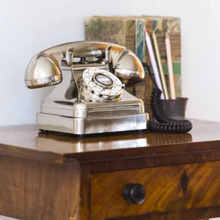 Silver Lobby Phone Smithers Archives Smithers of Stamford £ 65.00 Store UK, US, EU, AE,BE,CA,DK,FR,DE,IE,IT,MT,NL,NO,ES,SE