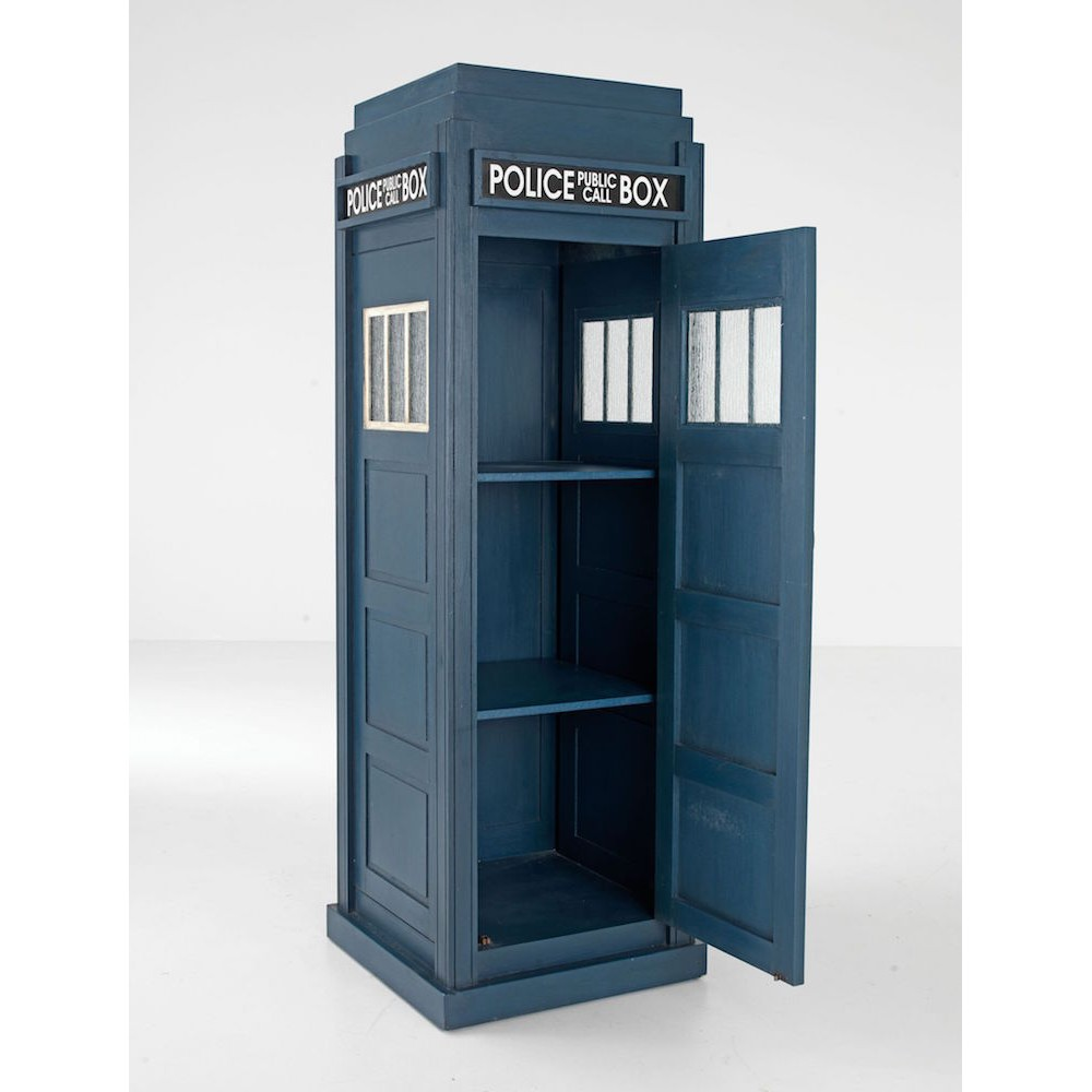 The Tardis Police Public Call Box Cabinets Sideboards Smithers Of Stamford 80000 Store UK