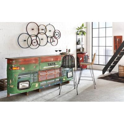 Tata Truck Bar Counter Reclaimed Wood Furniture Smithers of Stamford 1,950.00 Store UK, US, EU, AE,BE,CA,DK,FR,DE,IE,IT,MT,NL...