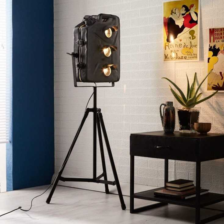 Floor Can Lights: Man Cave Floor Lamp This Jerry Can Corner Light Lighting