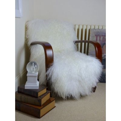 Mongolian Sheepskin Chair