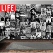 Life Magazine Collage Wallpaper £ 55.00 Store UK, US, EU, AE,BE,CA,DK,FR,DE,IE,IT,MT,NL,NO,ES,SE