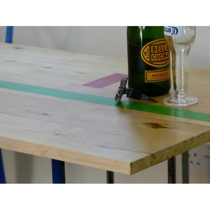 The Alley-OOP Reclaimed Gym Table