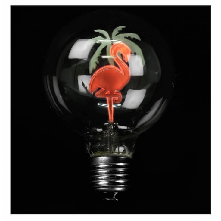 Flamingo Light Bulb Smithers Archives Smithers of Stamford £ 7.50 Store UK, US, EU, AE,BE,CA,DK,FR,DE,IE,IT,MT,NL,NO,ES,SE