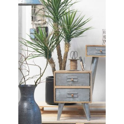 Aviator Bedside Table Nightstand