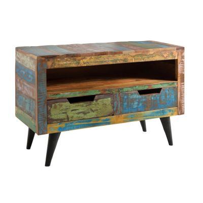 Reclaimed Wood TV Stand TV Units Smithers of Stamford £ 850.00 Store UK, US, EU, AE,BE,CA,DK,FR,DE,IE,IT,MT,NL,NO,ES,SE