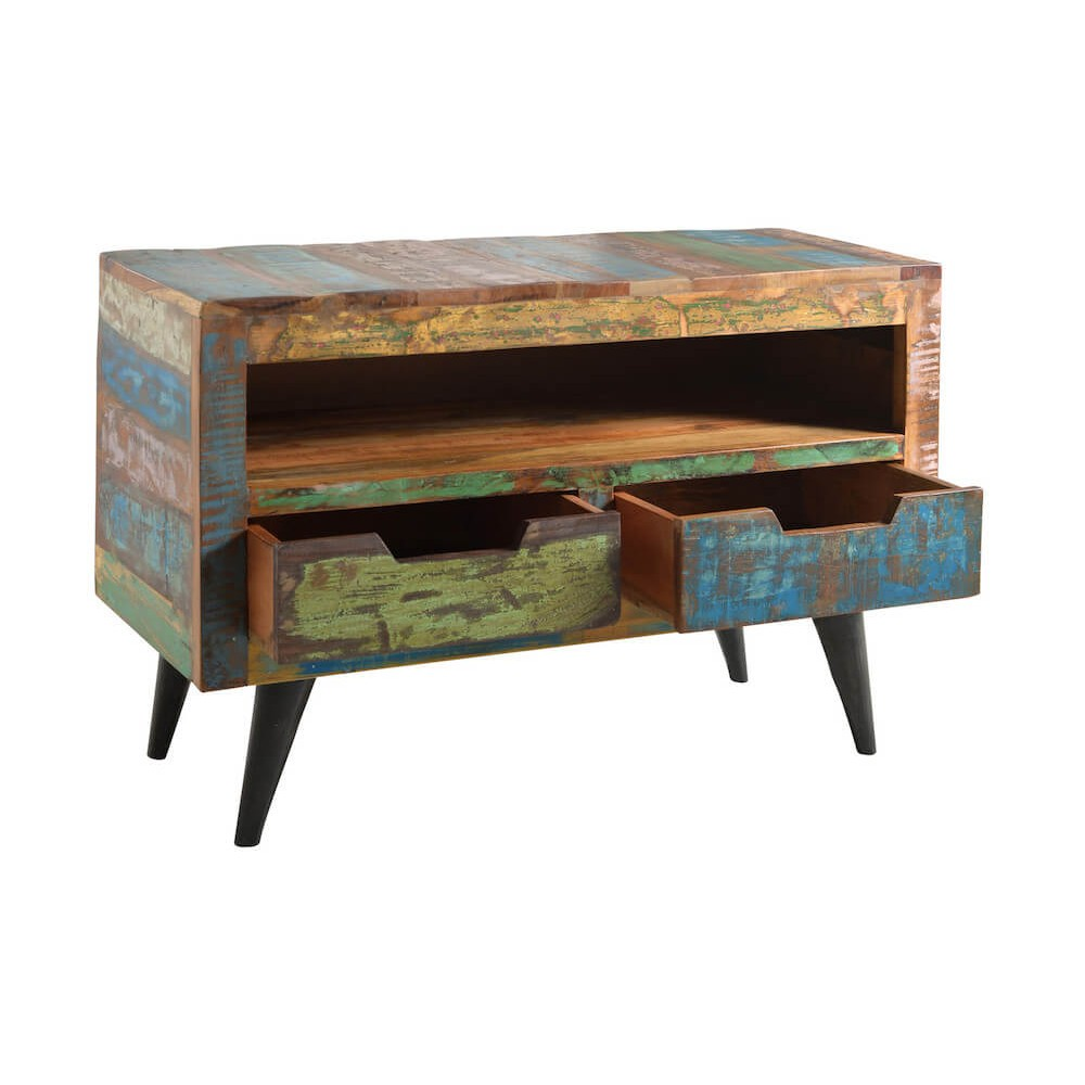 wood tv stand. reclaimed wood tv stand ·