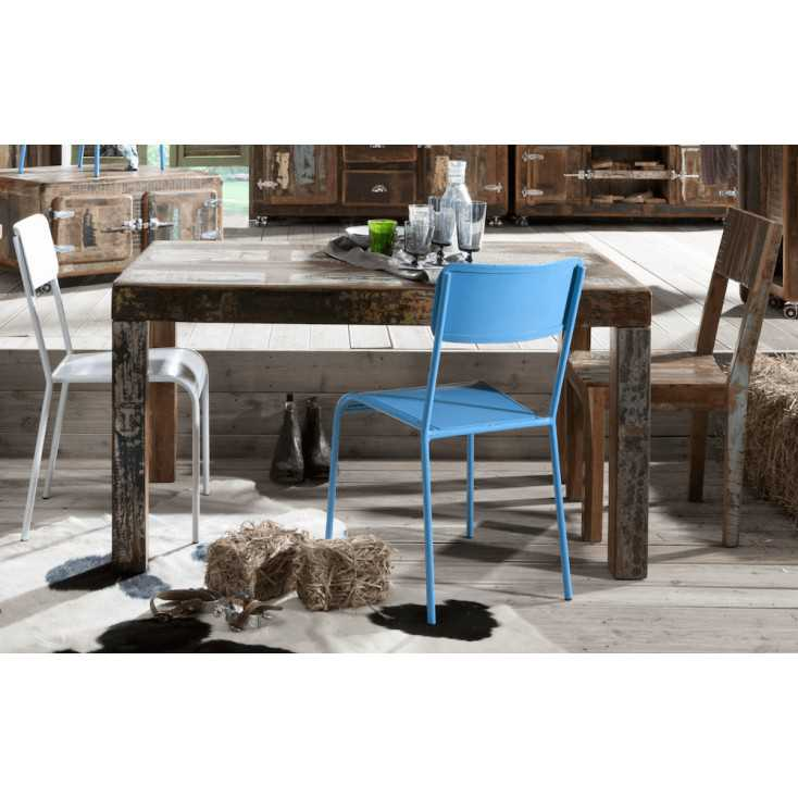 Fridge Reclaimed Wood Dining Table Recycled Wood Furniture Smithers of Stamford £993.75 Store UK, US, EU, AE,BE,CA,DK,FR,DE,I...